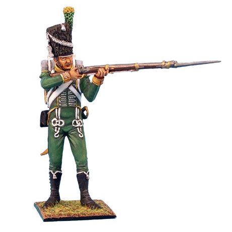NAP0196 - Westphalian Guard Chasseur Carabinier Standing Firing