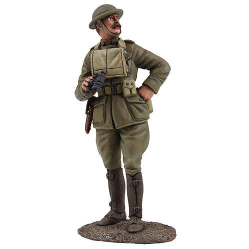 23105 - U.S. Officer with Binoculars, 1917-18