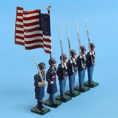 COWF-0012 - 20th Maine Volunteer Infantry Regiment - Chamberlain, 1 Flag