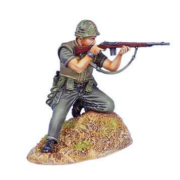 VN026 - USMC Infantry Firing M-14