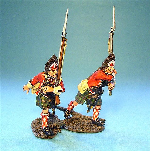 TIC-21 - 42nd Regiment of Foot, 2 Grenadiers March Attack