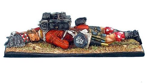 NAP0271 - 92nd Gordon Highlander Laying Dead