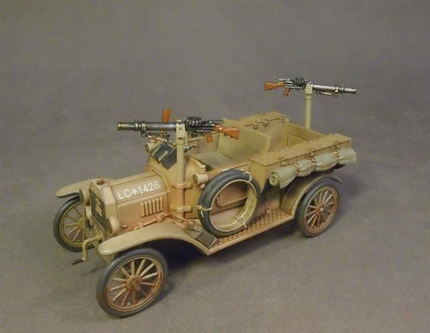 WAD-22 - Australian 1st Light Car Patrol 1917, Ford Model T , IMSHI
