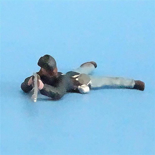CORD-265 - Union Infantry Prone (1 Figure) - Unknown Manufacturer - 54mm Metal