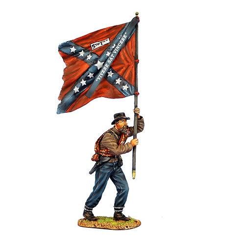 ACW090 - Confederate Standard Bearer - 5th Texas