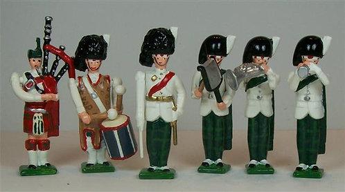 B140 - Royal Highland Fusilier Band - 6 pieces