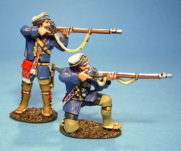 QFM-07 - French Marines in Campaign Dress Firing 1 (2pcs)