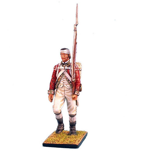 AWI039 - British 5th Foot Grenadier March Attack with Bandaged Head