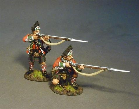 BR77H-02 - 77th Regiment of Foot, 2 Grenadiers Skirmishing