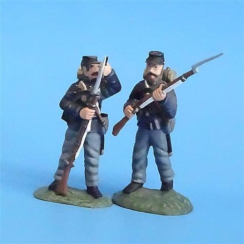 CORD-251 - Union Infantry (2 Figures) - ACW - Frontline - 54mm Metal - No Box