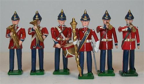 B170 - 19th Century British Band - 6 pieces