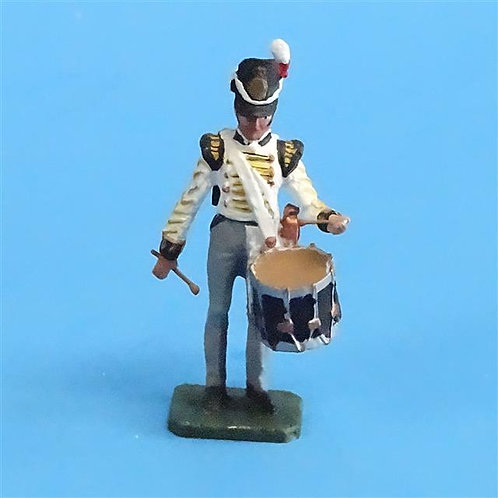 CORD-N0191 - British Infantry Drummer - Unknown Manufacturer - 54mm Metal
