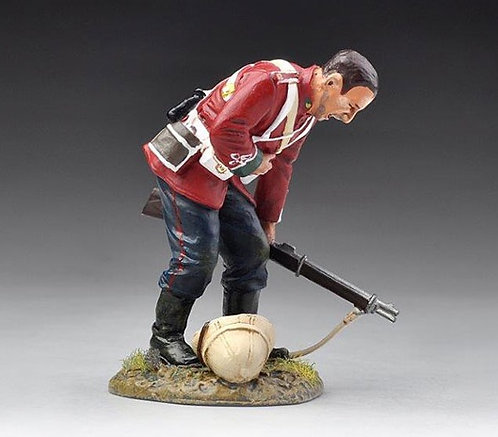 SFA019A - Wounded Redcoat