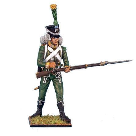 NAP0193 - Westphalian Guard Chasseur Standing Loading