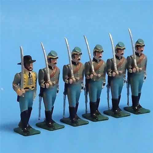 COWF-0108 - 1st Texas Cavalry Regiment Texas Mounted Rifles, Dismounted