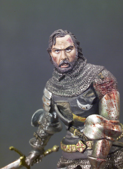 SM-F46 - Wounded Knight in Battle, 1415 (Battle of Agincourt)