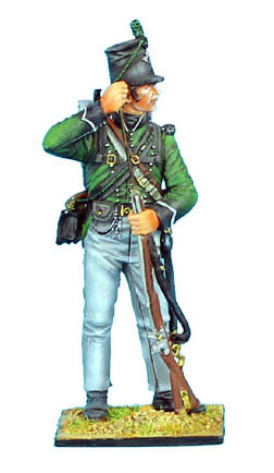 NAP0289 - British 95th Rifles Standing Loading
