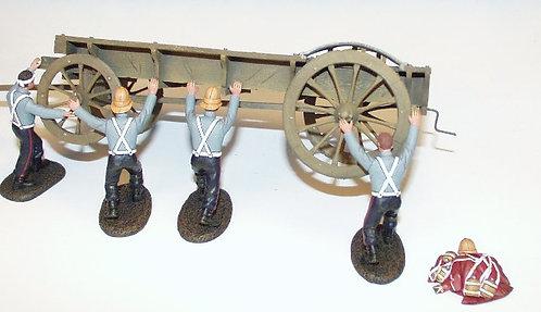 WZW.4 - Ox Wagon, Four 24th. Foot Over Turning Wagon