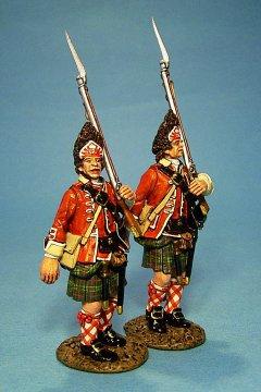 TIC-20 - 42nd Regiment of Foot, 2 Grenadiers Marching