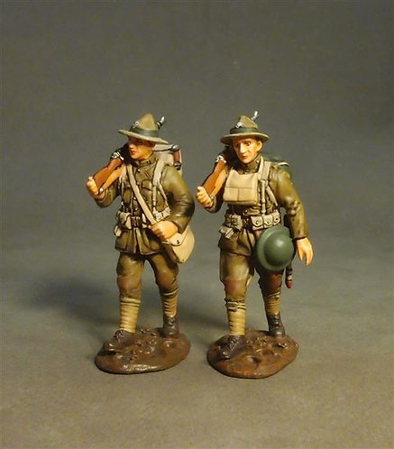 GWUS-10 - U.S. Marines Corps, Marching (2pcs) American Expeditionary Forces