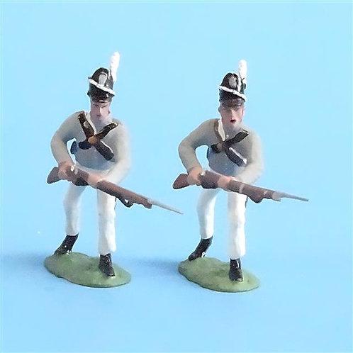 CORD-A0156 - Scotts Brigade Advancing (2 pcs) - War of 1812 - All the King's Men