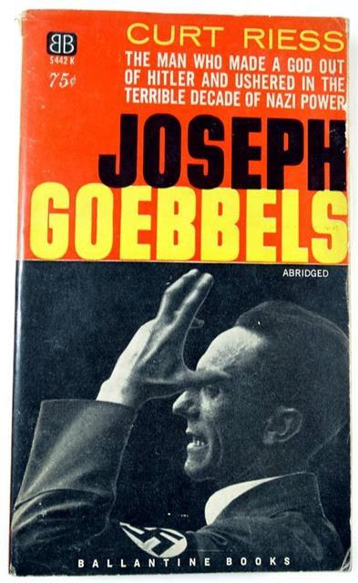 BK045 - Joseph Goebbels by Curt Riess