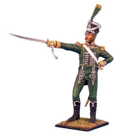 NAP0188 - Westphalian Guard Chasseur Officer