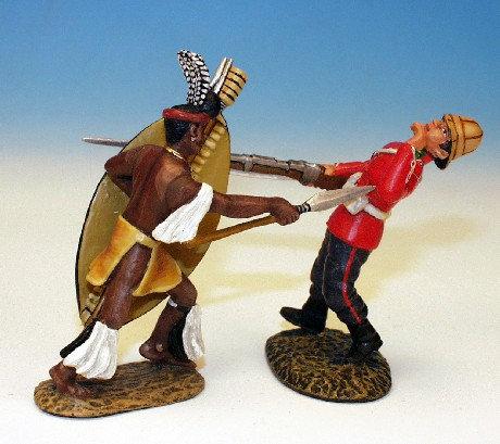ZWH.3 - Zulu Attacking 24th Foot, Set 1