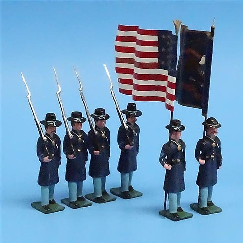 COWF-0062 - 8th Wisconsin Volunteer Infantry Regiment  Edition B, 2 Flags