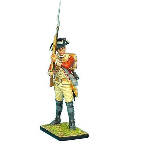 AWI052 - British 22nd Foot Standing Ready - Head Variant 2