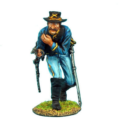 ACW035 - Union Dismounted Cavalry Trooper Shoulder Wound