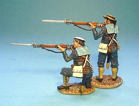 SRN-03 - British Naval Brigade 2 x Sailors Firing #2