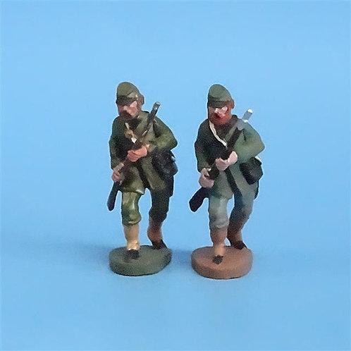 CORD-061 Berdan's Sharpshooters Advancing (2 Figs) - Manufacturer Unknown - 54mm