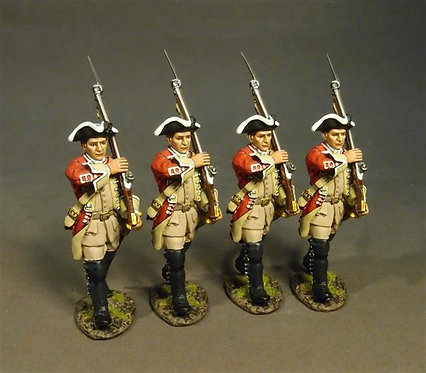 BM48-07 - 48th Regiment of Foot, Line Infantry Marching