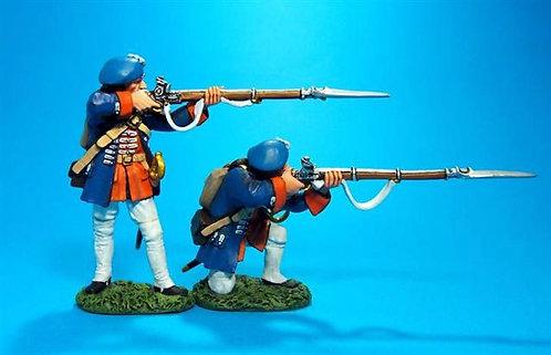 EEC-06 - Line Infantry Firing #1  Regiment Royal Ecossois