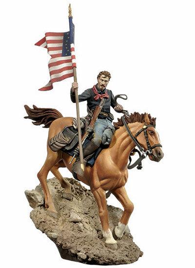 S4-F44 - US Cavalry Flag Bearer, 1876