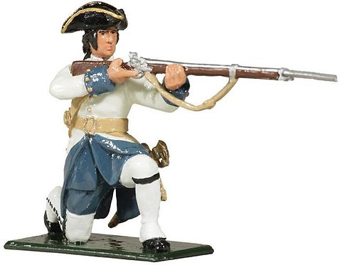 47055 - Compagnies franches de la Marine Kneeling Firing, 1754-1760