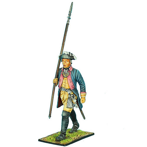 SYW001 - Prussian 7th Line Infantry Regiment Officer