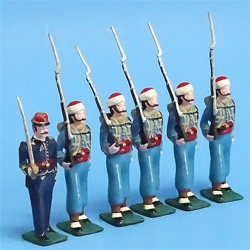 COWF-0043 - 146th New York Volunteer Infantry Regiment  Garrard's Zouaves