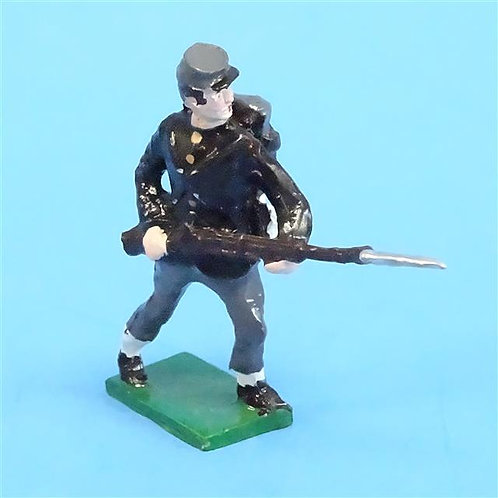 CORD-0857 - Confederate Advancing  - ACW - Unknown Manufacturer - 54mm Metal