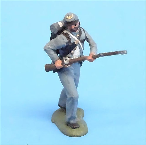 CORD-0848 - Confederate Advancing  - ACW - Unknown Manufacturer - 54mm Metal