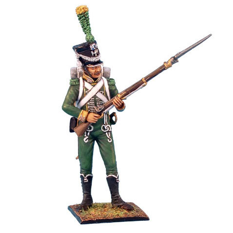 NAP0192 - Westphalian Guard Chasseur Standing Ready
