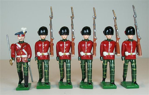 B316 - Royal Scots Fusiliers Marching - 6 pieces