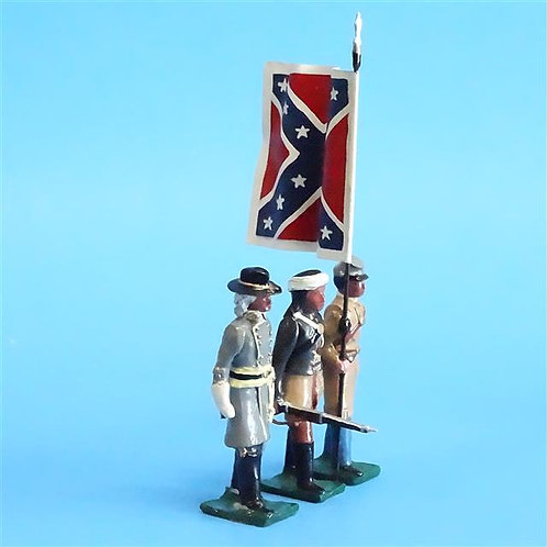 COWF-0122 - 1st Cherokee Rifles  Edition B, with Flag, General Stand Watie