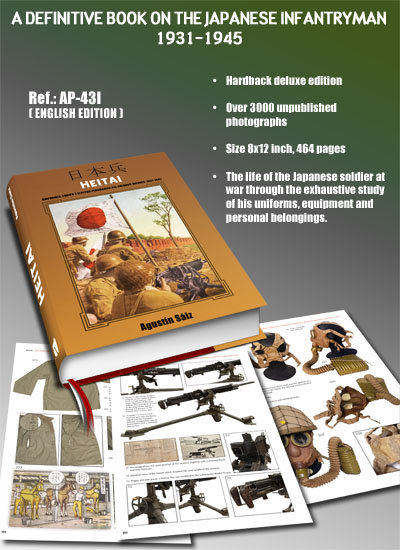 AP-043I - Heitai: A definitive book on the Japanese infantryman - 1931-1945