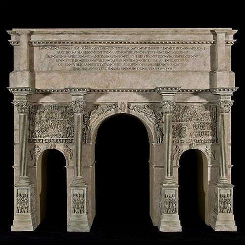 "59100 - Arch of Septimius Severus (17.5"" x 15.5"" x 6"")"