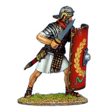 ROM138 - Imperial Roman Legionary with Gladius - Legio I Adiutrix