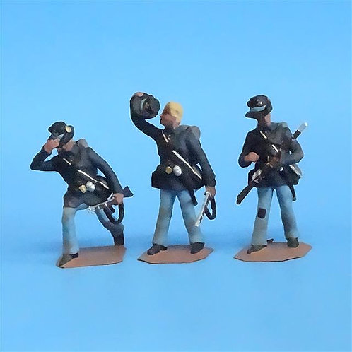 CORD-170 Iron Brigade (3 Figures) - Soldier Bay Miniatures - 54mm Metal - No Box