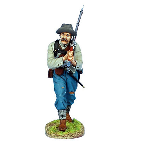 MB017 - Confederate Infantry Advancing