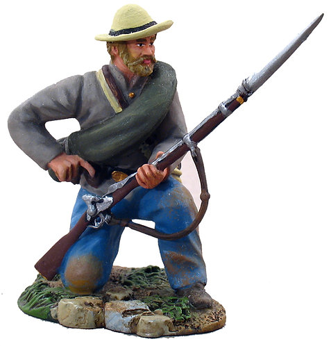 31025 - Confederate Infantry Kneeling Loading No.1